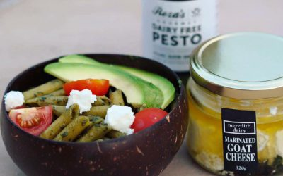 Healthy Pesto Pasta Bowl