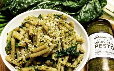 Dairy Free Pesto Pasta Lunch Bowl