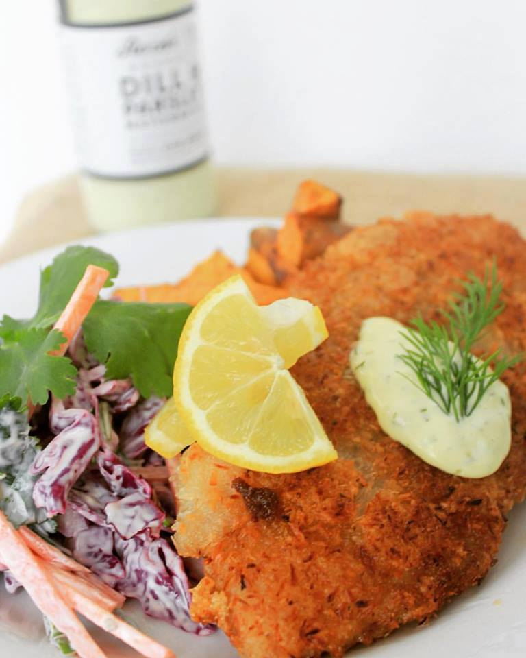 Paleo Coconut Crumbed Fish