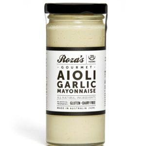 Aioli Garlic Mayonnaise_WhiteBG