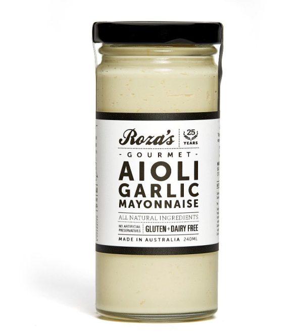 Aioli Garlic Mayonnaise_WhiteBG