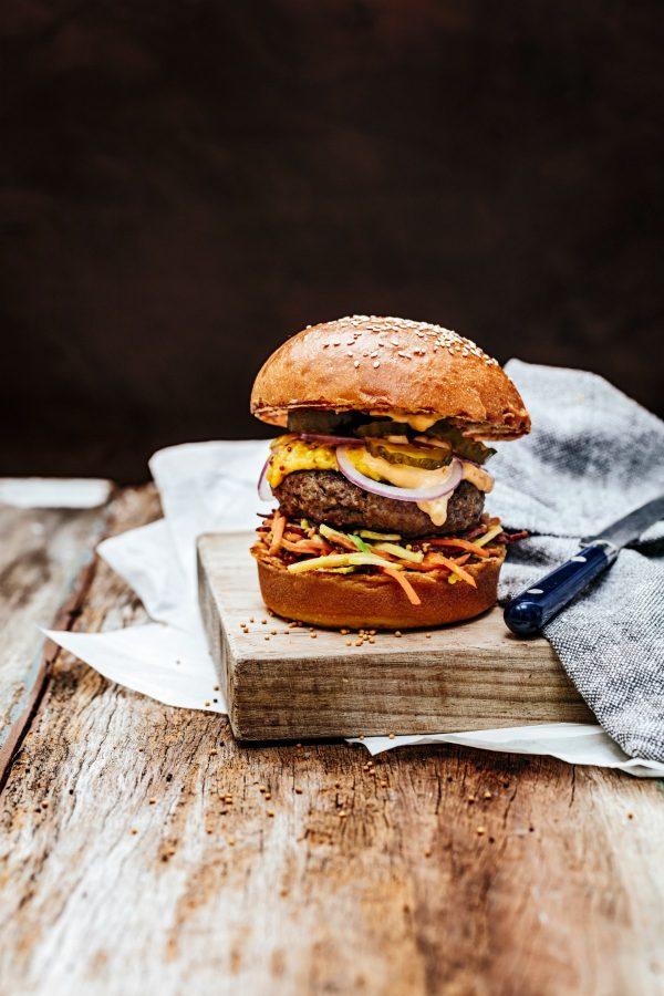 Beef Burger - Apricot Mustard & Habanero Mayo-2