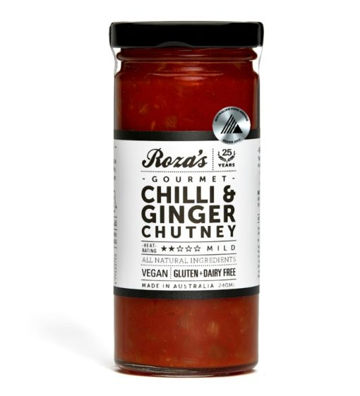Roza's Gourmet Chilli-Ginger-Chutney_Award Winning