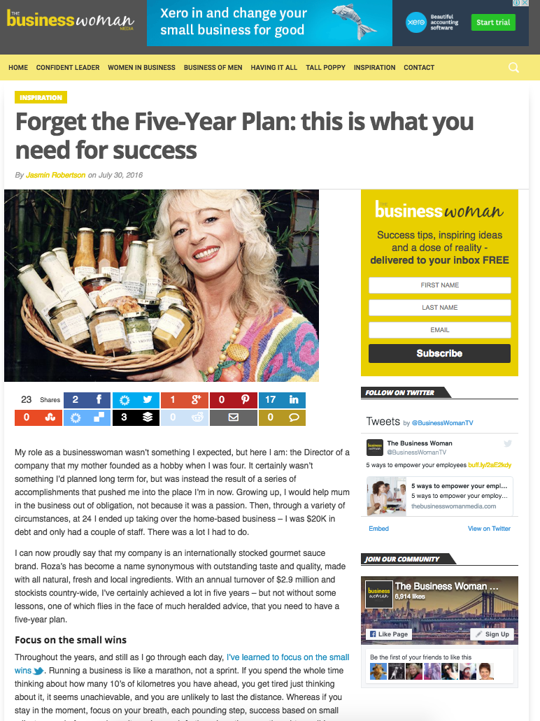 Forget the Five-Year Plan: this is what you need for success