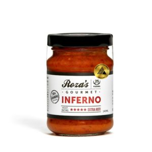 Rozas-Gourmet-Inferno-140ml_Award Winning