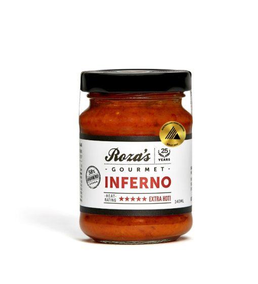 Rozas-Gourmet-Inferno-140ml_Award Winning