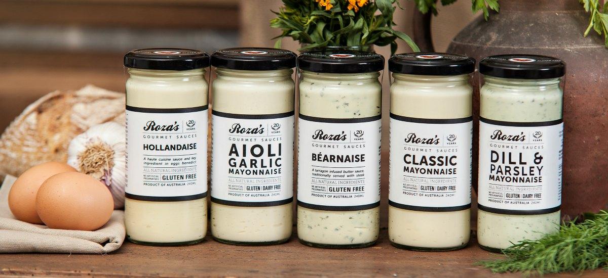 Rozas Gourmet sauces range