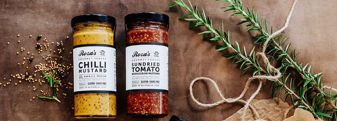 Rozas Gourmet Mustard range