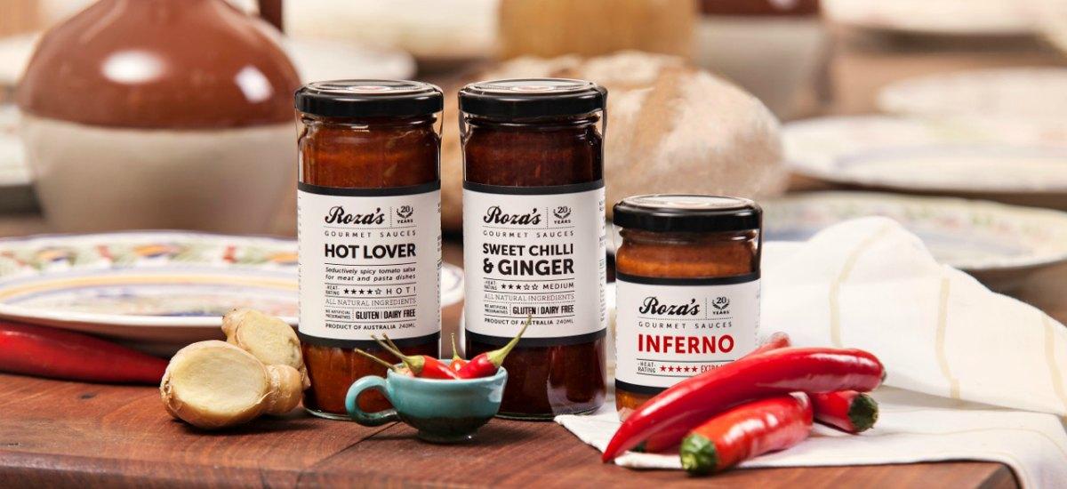 Rozas Gourmet Chilli Sauces