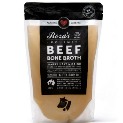 Roza's Gourmet Beef Bone Broth