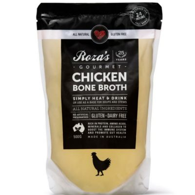 Roza's Gourmet Chicken Bone Broth