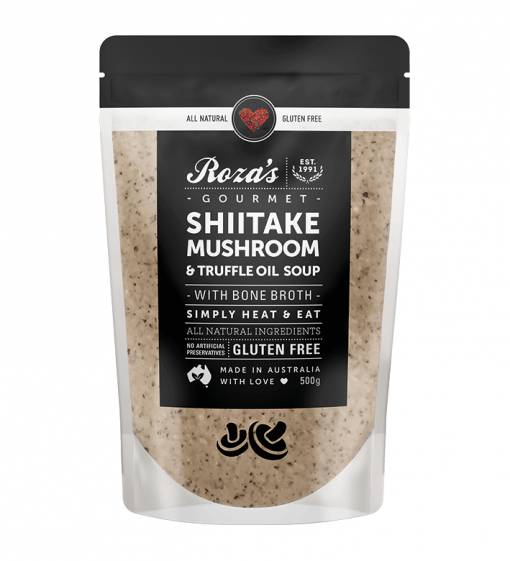 Roza's-Gourmet-Shiitake-Mushroom-and-Truffle-Oil-Soup