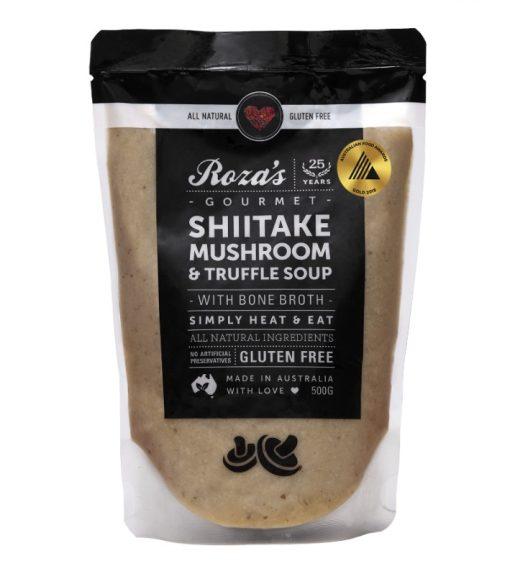 Rozas-Gourmet-Shiitake Mushroom and Truffle Soup Award Winning australian made