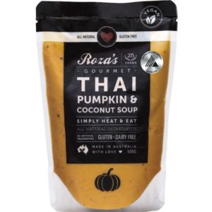 Rozas-Gourmet-Thai Pumpkin and Coconut Soup Award Winning Australian Made