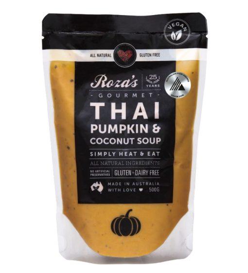 Rozas-Gourmet-Thai Pumpkin and Coconut Soup Award Winning Australian Made