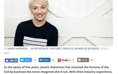 Jasmin Robertson on the 'sauce' of success