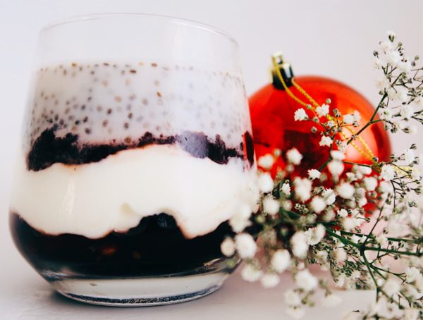 Rozas-Gourmet-Cranberry-Orange-sauce-Christmas-Chia-Pudding-recipe-breakfast