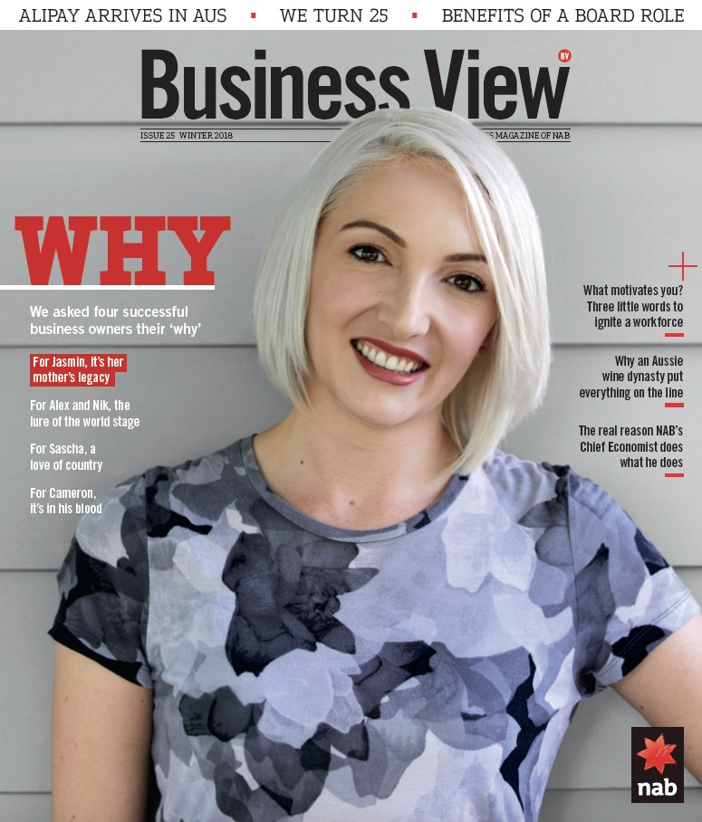 NAB Business View Roza's Gourmet Jasmin Robertson Interview