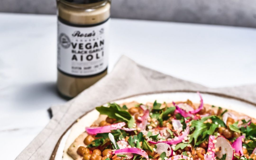 Vegan Loaded Flatbread