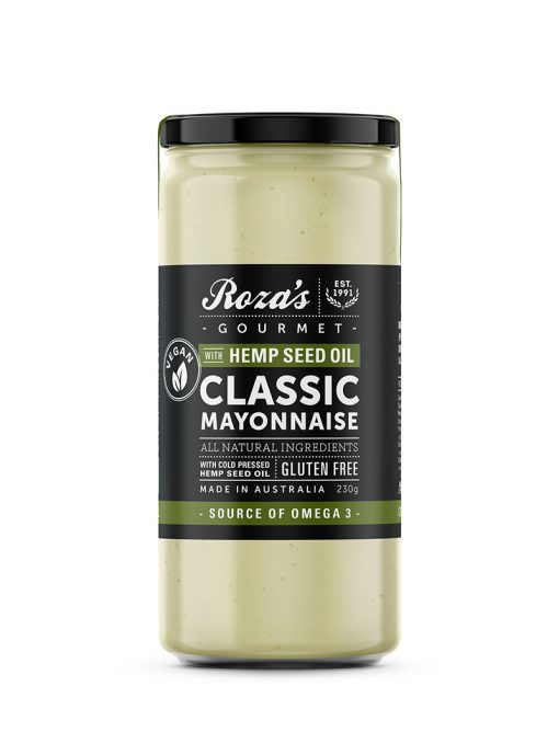 Classic Mayonnaise with Hemp Seed Oil