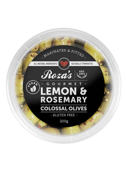 Lemon & Rosemary Colossal Olives