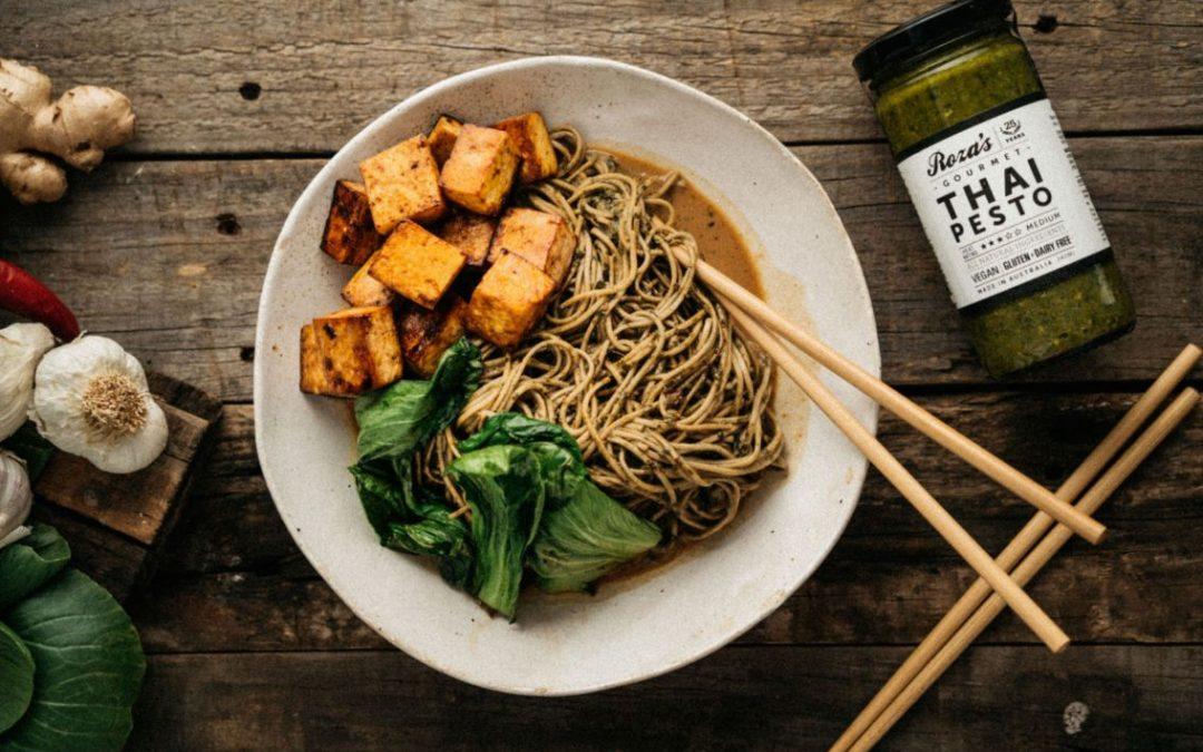 Thai Pesto Noodle Ramen