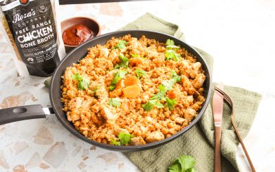 One Pan Moroccan Chicken Couscous